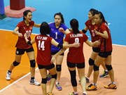 Junior women volleyballers are No 18 in the world