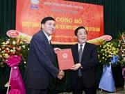 VAMC gets new chairman
