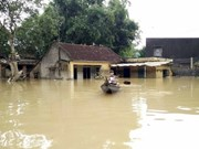 Vietnam News Agency assists flood victims