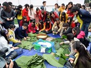 Buddhists, youths join hand to help the poor