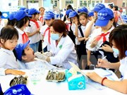 85 percent of Vietnamese children have tooth decay