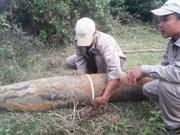 Quang Tri defuses 266kg bomb
