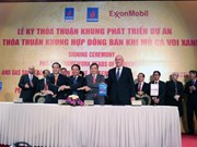 US group, PVEP sign gas project development framework agreement