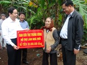 Vietnam Fatherland Front supports flood victims in Phu Yen