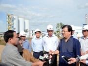 Deputy PM underlines environmental safety at alumina plant