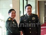 Vietnamese defence minister meets Chinese counterpart in Beijing