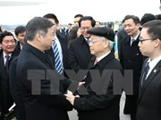 Party General Secretary successfully wraps up China visit