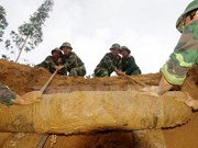 150 potentially live artillery shells found in Quang Tri