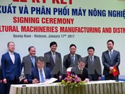 THACO, RoK firm partner to manufacture agricultural machines