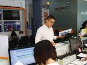 Banks lead Vietnam stock markets