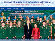 Vietnam peacekeeping centre launches official website