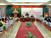 HCM City's leaders meet overseas Vietnamese on eve of Tet