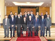 Party leader receives ASEAN members' diplomatic representatives