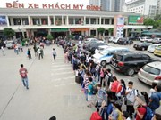Travel demand in Hanoi soars before Lunar New Year