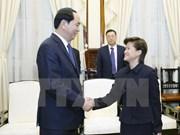 President hosts Singaporean Ambassador