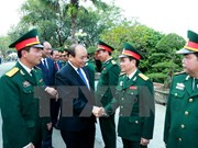 Prime Minister inspects combat readiness at Division 312