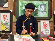 HCM City Tet calligraphy market booming