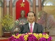 President Tran Dai Quang extends Lunar New Year greetings