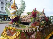 Annual fruit festival underway in central Thailand