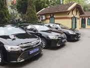 State-owned car fleet to be cut in half