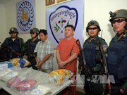 Cambodia arrests over 2,700 drug-related suspects in one month
