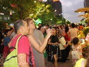 Ho Chi Minh City attracts int'l tourists during Tet holiday
