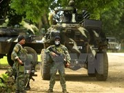 Philippines army pledges of insurgent crackdown