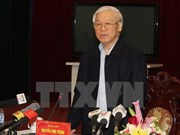 Party chief suggests Nam Dinh attract more investment