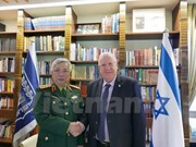 Israeli President supports stronger defence ties with Vietnam