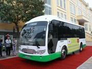 Hai Phong to pilot solar-powered buses on Cat Ba Island