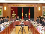 Party chief lauds economic commission's achievements