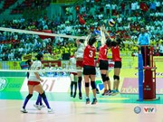 Four foreign teams compete at int'l volleyball tourney in Vietnam