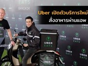 UberEATS promoted in Thailand