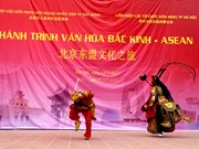 """Beijing – ASEAN culture journey"" comes to Hanoi"