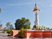 Vietnam-Cambodia friendship monument in Takeo restored