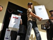 Regional head election runs smoothly in Jakarta