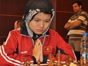 Vietnamese has shock win at world chess champs
