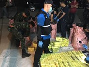 7.4 million speed pills, 20 kg of ice seized in northern Thailand