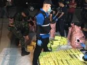 7.4 million speed pills, 20 kg of ice seized in northern Thailand
