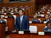 Cambodia approves amended law on political parties