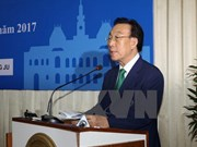 HCM City Party chief greets RoK locality's official