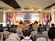 Pak Beng hydropower plant on Mekong River discussed at Laos forum