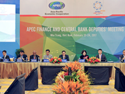 APEC Finance and Central Bank Deputies' Meeting wraps up