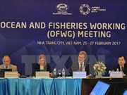 Sustainable use of aquatic resources receive attention at APEC meeting
