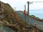 EVN SPC works to link southern rural areas with national grid