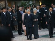 Japanese Emperor meets with JICA volunteers in Vietnam