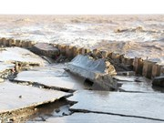 Bac Lieu approves measures to fix eroded sea dykes