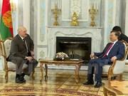 Vietnam treasures traditional friendship with Belarus