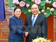 Prime Minister receives Lao National Assembly Chairwoman