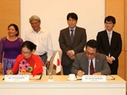 Japan provides non-refundable aid for social projects in Vietnam